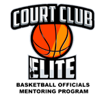 Court Club Elite Basketball Officials Mentoring Program
